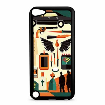 Supernatural Collage Art iPod Touch 5 Case