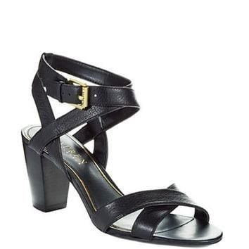 Lauren Ralph Lauren Luna Stacked Heel Sandals