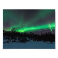 Northern Lights Over Abisko Photo Print
