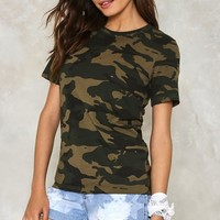 Battle Cry Camo Tee