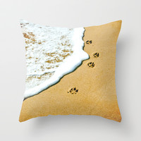 Prints Throw Pillow by Sandy Broenimann