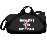 Gymnastics is my happy place: Creations Clothing Art