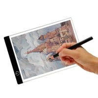 Computer USB A4 LED Artist Thin Art Stencil Drawing Board Light Box Tracing Table Pad Supports power supply power bank