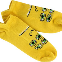 Tm Transmissionator Ankle Socks-Yellow 1 Pair