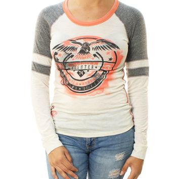 American Fighter Women's Grand Canyon Raglan Graphic T-Shirt