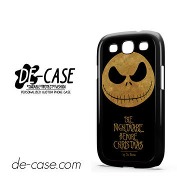 The Nightmare Before Christmas By Tim Burton For Samsung Galaxy S3 Case Phone Case Gift Present YO
