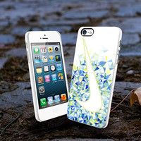 Nike Just Do It Logo Mosaic New Design L2n - iPhone 4/4s Case iPhone 5 Case New Design