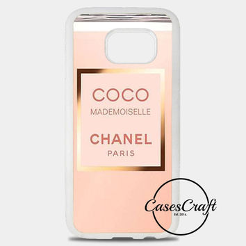 Coco Chanel Perfume Quotes Mademoiselle Samsung Galaxy S8 Plus Case | casescraft