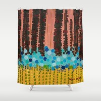 :: Days Like These :: Shower Curtain by :: GaleStorm Artworks ::