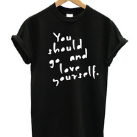 Love Yourself Justin Bieber tshirt Tumblr shirt