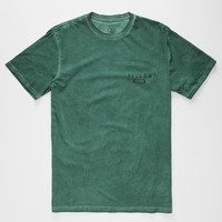 Volcom Antenna Mens T-Shirt Green  In Sizes