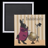 INDUBITABLY FRIDGE MAGNET from Zazzle.com
