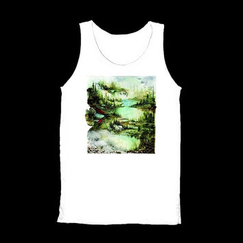 Bon Iver Tank Tops Shirt TShirt T-Shirt Tunic Shirts White Men And Women Unisex Size S M L XL