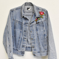 Tiger Patched Denim Jacket