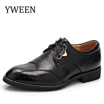 YWEEN 2017 New Classic Men Formal Shoes Casual Oxford Shoes For Men High Quality Men Dress Shoes