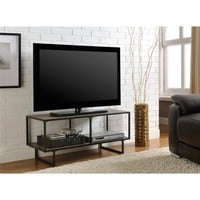 Altra Emmett Gunmetal Grey TV Stand | Overstock.com Shopping - The Best Deals on Entertainment Centers