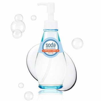 Holika Holika Soda Pore Cleasing Deep Cleansing Oil 150ml Facial Cleanser Face Skincare Shrink Pores Makeup Remover Moisturizing