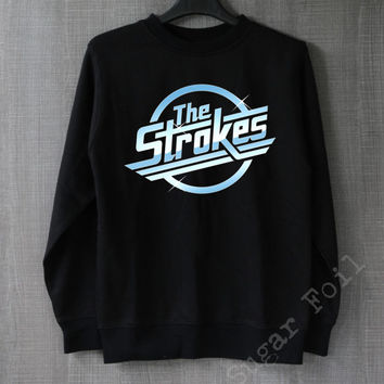 The Strokes Sweatshirt Hoodie Sweater Unisex - Size S M L XL