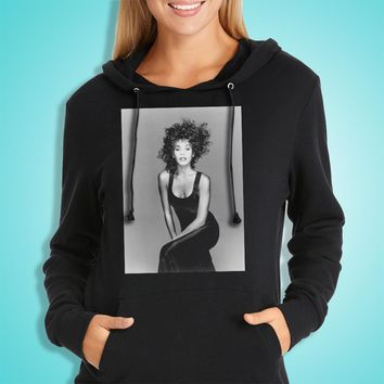 Whitney Houston The Bodyguard Bobby Brown How Will I Know I Will Always Love You R&B Pop Soul Gospel Music Women'S Hoodie