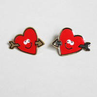 Lazy Oaf | Heart Collar Pin Set