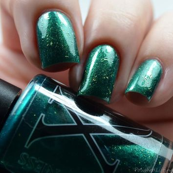 Last Batch - Philosopher's Stone - Emerald Jelly w/ Shifting Shimmer