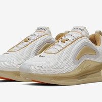 HCXX 19Aug 730 Nike Air Max 720 Pale Vanilla CI6393-100 Women Men Sports Sneaker Fashion Running Shoes