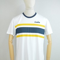 Diadora AW17 T-Shirt SL in White