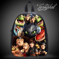 How to train your dragon - School Bag Design Kid's In Size S / M / L