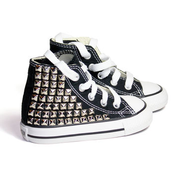 Toddler's Custom Studded Converse