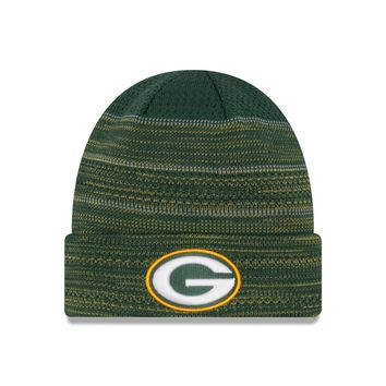 Green Bay Packers NFL17 Sideline Cuffed Knit Hat By New Era
