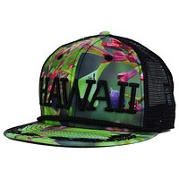 Fitted Hawaii Aina SnapBack Hat