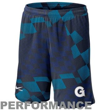 Nike Georgetown Hoyas Lacrosse Digi Training Short 1.3 - Navy Blue