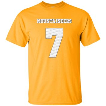 WILL GRIER WEST VIRGINIA MOUNTAINEERS JERSEY SHIRT