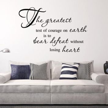 2018 Wall Decals Bible Scripture Word Vinyl Removable Sticker Verse Quote Art Decor
