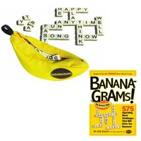 Bananagrams Game and Bananagrams Book Set