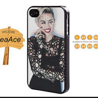 Resin phone cases, Miley cyrus, iPhone 5C case, iPhone 5 case, Galaxy S4 case, Note 3 case, iPhone 4 case, Galaxy S5 case--N0097