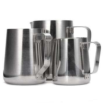 Stainless Steel Frothing Pitcher Latte Coffee Frothing Espresso Pitcher Kitchen Craft /1000ML