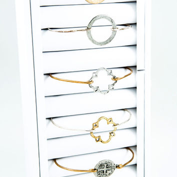 Bangle, Crosses and More