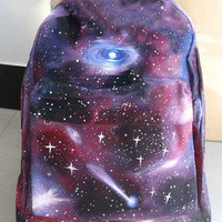 Unique Sparking Eye Backpack Bag