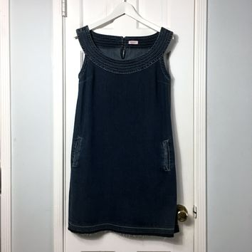 MAX&CO by Max Mara women's denim mini dress size 6