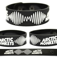 ARCTIC MONKEYS Rubber Bracelet Wristband Favourite Worst Nightmare AM