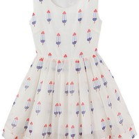 Fashion Popsicle Pattern Dress - OASAP.com
