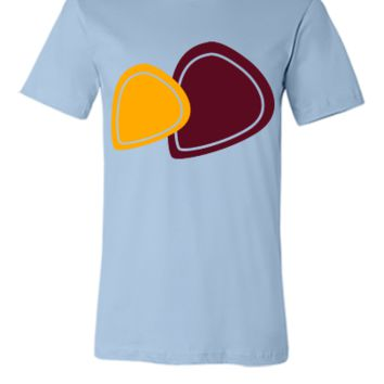guitar picks - Unisex T-shirt