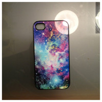 Iphone 4 Galaxy Print Case