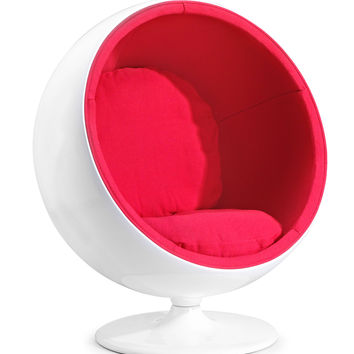 MIB Lounge Chair Red