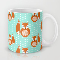 Adore Foxes Mug by Joanne Paynter