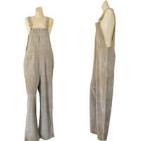 Plus Size Overall XL Overall Corduroy Overall Women Bib Overall Brown Overall 90s Overall Jumpsuit Salopette Femme Dungaree Corduroy Pants