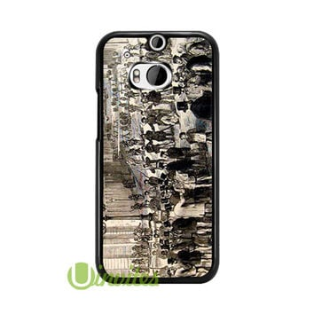 Vintage Paris Montmartre Caf  Phone Cases for iPhone 4/4s, 5/5s, 5c, 6, 6 plus, Samsung Galaxy S3, S4, S5, S6, iPod 4, 5, HTC One M7, HTC One M8, HTC One X