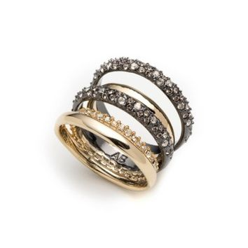 Alexis Bittar Pavé Stack Ring | Nordstrom