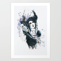 Reminders  Art Print by Galen Valle